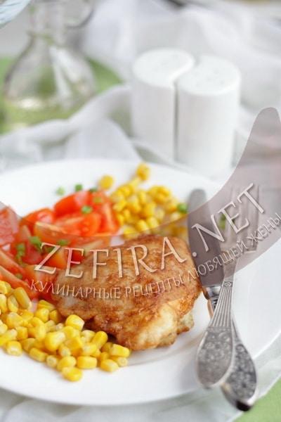 Куриные кармашки с сыром - рецепт и фото
