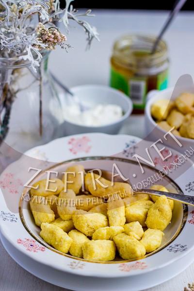 Ленивые вареники из творога - пп рецепт и фото