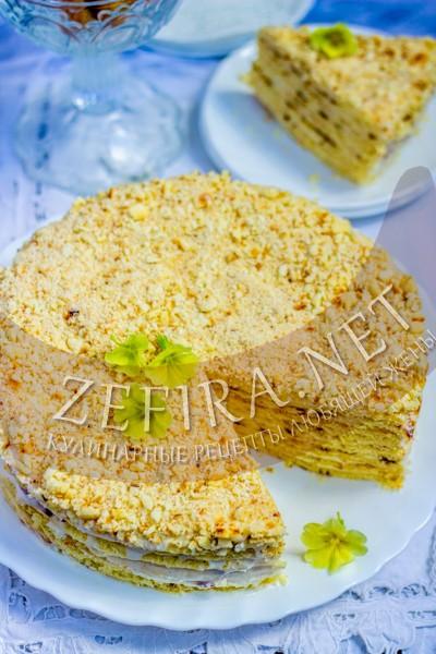 Быстрый творожный торт на сковороде - рецепт и фото