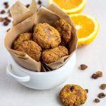 Диетическое морковное печенье с овсянкой и изюмом