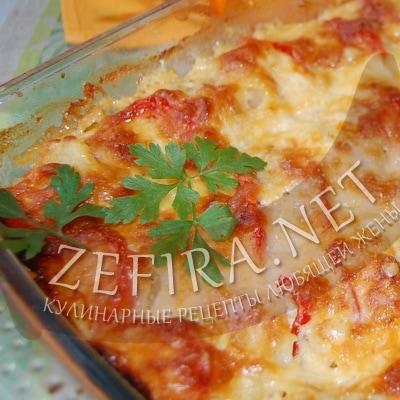 Вкусная овощная запеканка с картошкой и кабачками