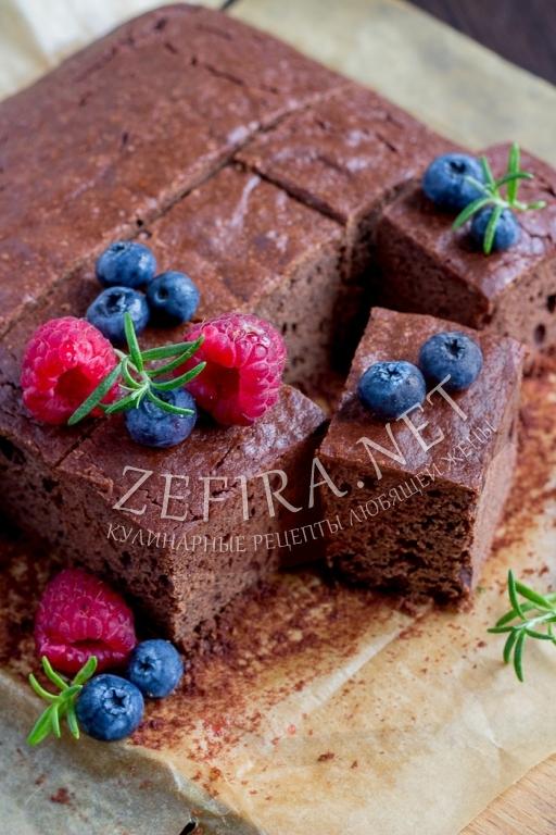 Самый простой рецепт шоколадного брауни с пошаговыми фото