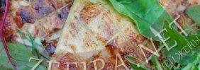 Куриные крылышки в медово — соевом соусе, приготовленные на мангале