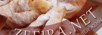 Рецепт пышного хвороста на кефире